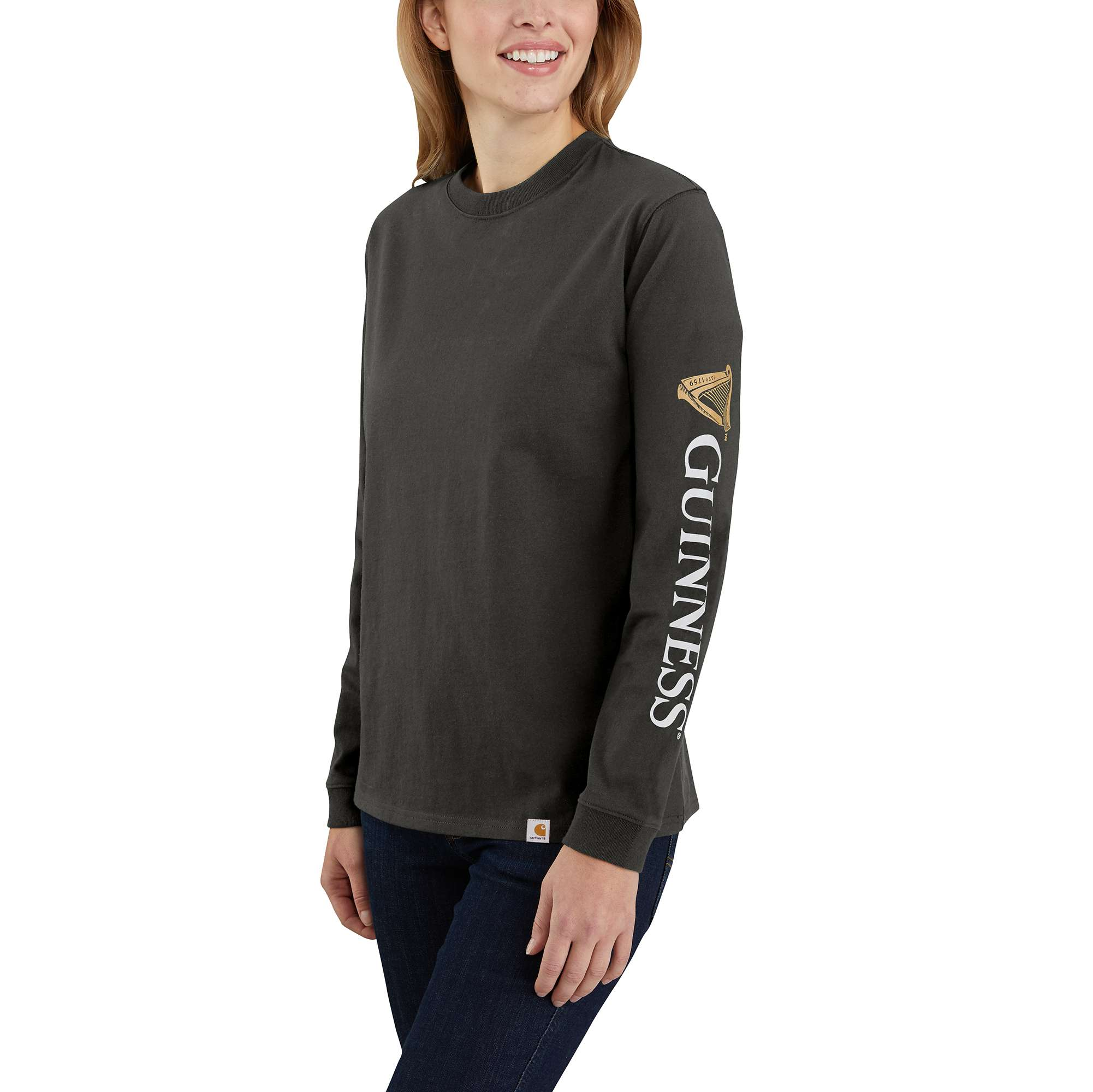 Original Fit Heavyweight Guinness Graphic Long-Sleeve T-Shirt