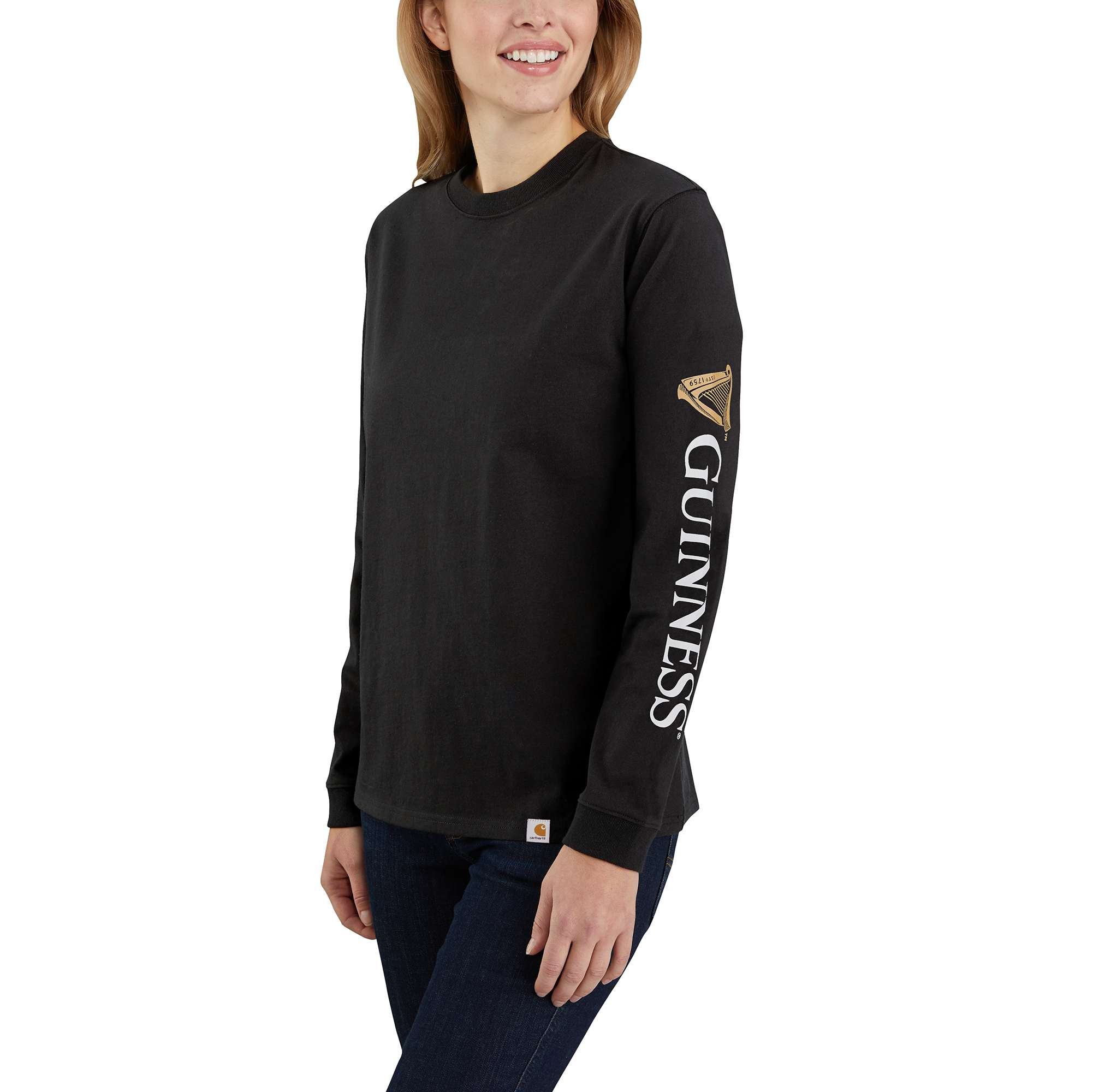 Carhartt Original Fit Heavyweight Guinness Graphic Long-Sleeve T-Shirt