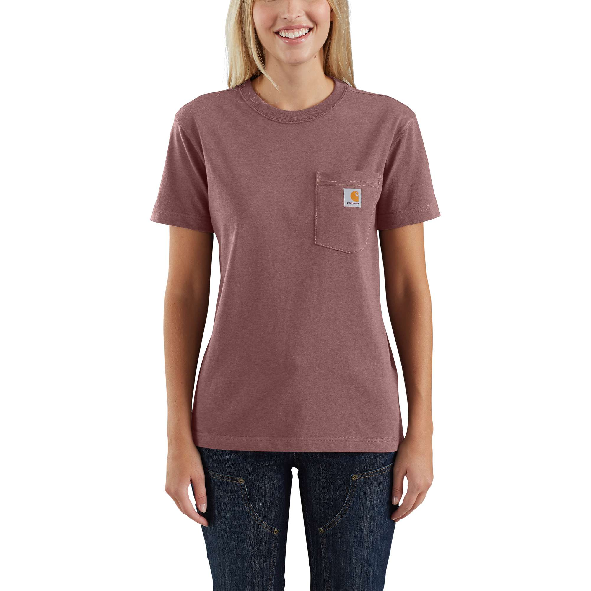 Loose Fit Heavyweight Short-Sleeve Pocket Tried and True Graphic T-Shirt
