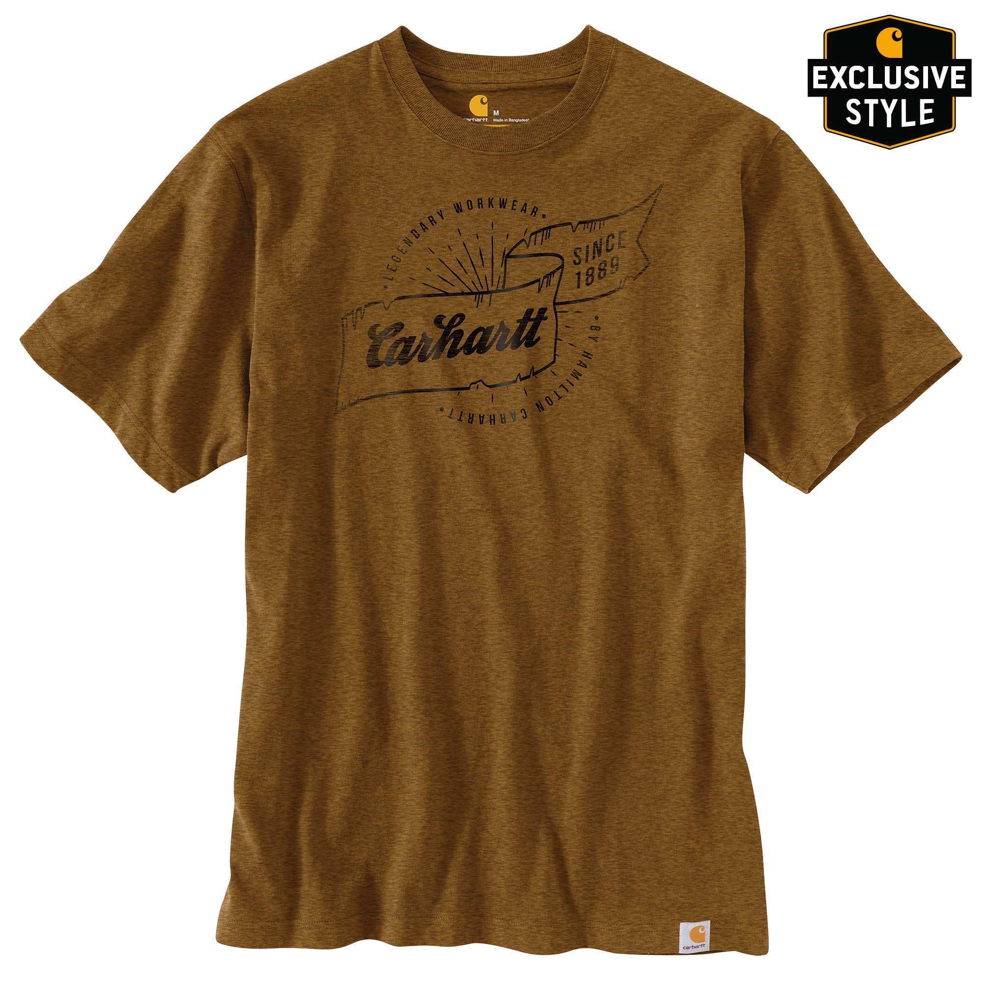 Relaxed Fit Heavyweight Short-Sleeve Hamilton Graphic T-Shirt
