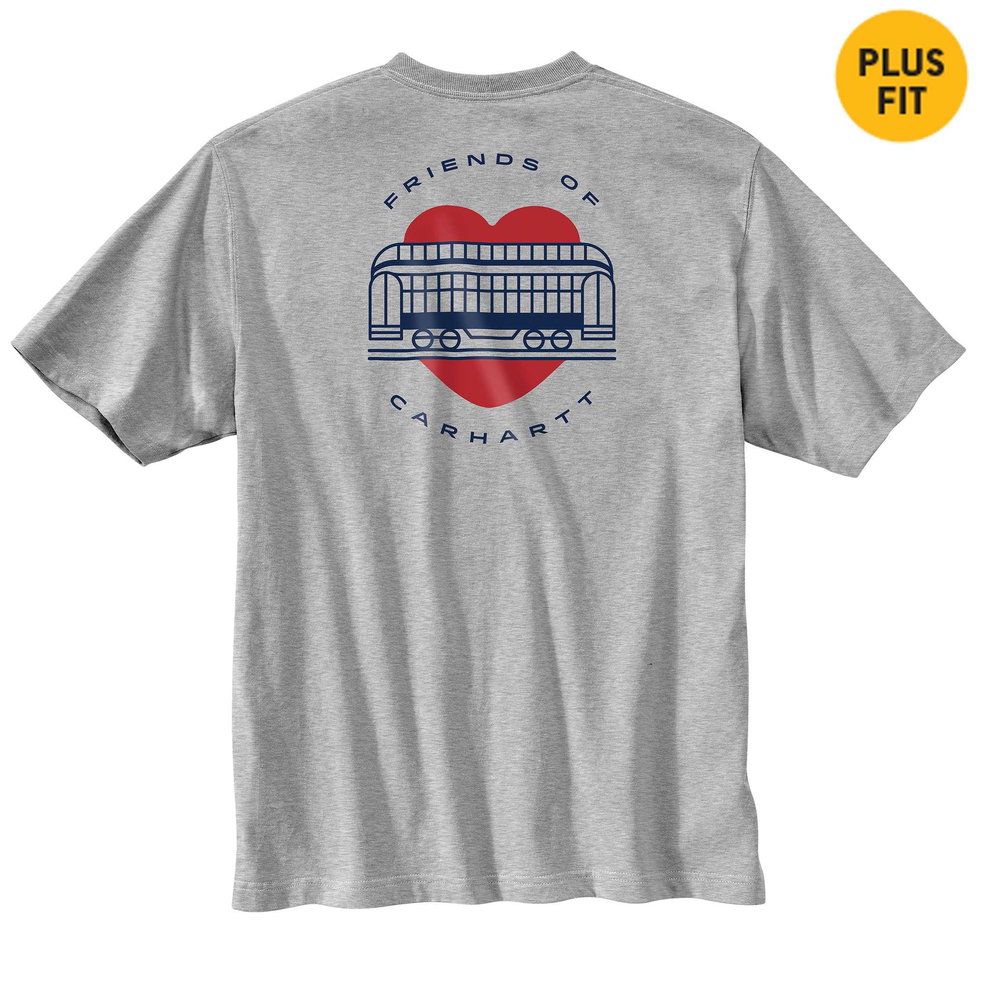 Loose Fit Heavyweight Short-Sleeve Pocket Friends of Carhartt T-Shirt