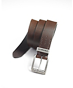 Mens Bar Tacked Belt
