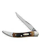 Genuine Bone Molasses Small Texas Toothpick Pocket Knife