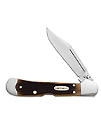 Genuine Bone Molasses  Mini CopperLock® Pocket Knife