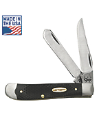 Coarse Black G-10 Mini Trapper