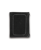 Men's Trifold Wallet-Milled Pebble with Collectible Tin