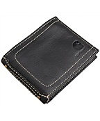 Men's Passcase Wallet with Collectible Tin