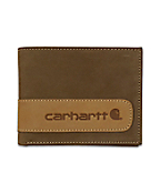 Men's Two-Tone Billfold with Wing Wallet with Collectible Tin
