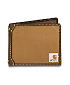 Men's Canvas Passcase Wallet
