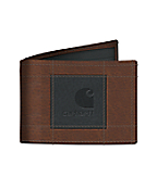 Men's Lightweight Passcase Wallet with Patch