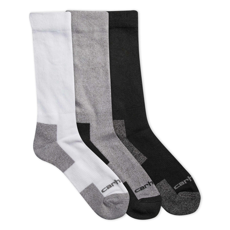 Carhartt All-Season Comfort Stretch Crew Sock 3 pack