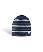 Reversible Stripe Knit Hat