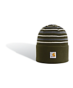 Men's Striped Watch Hat
