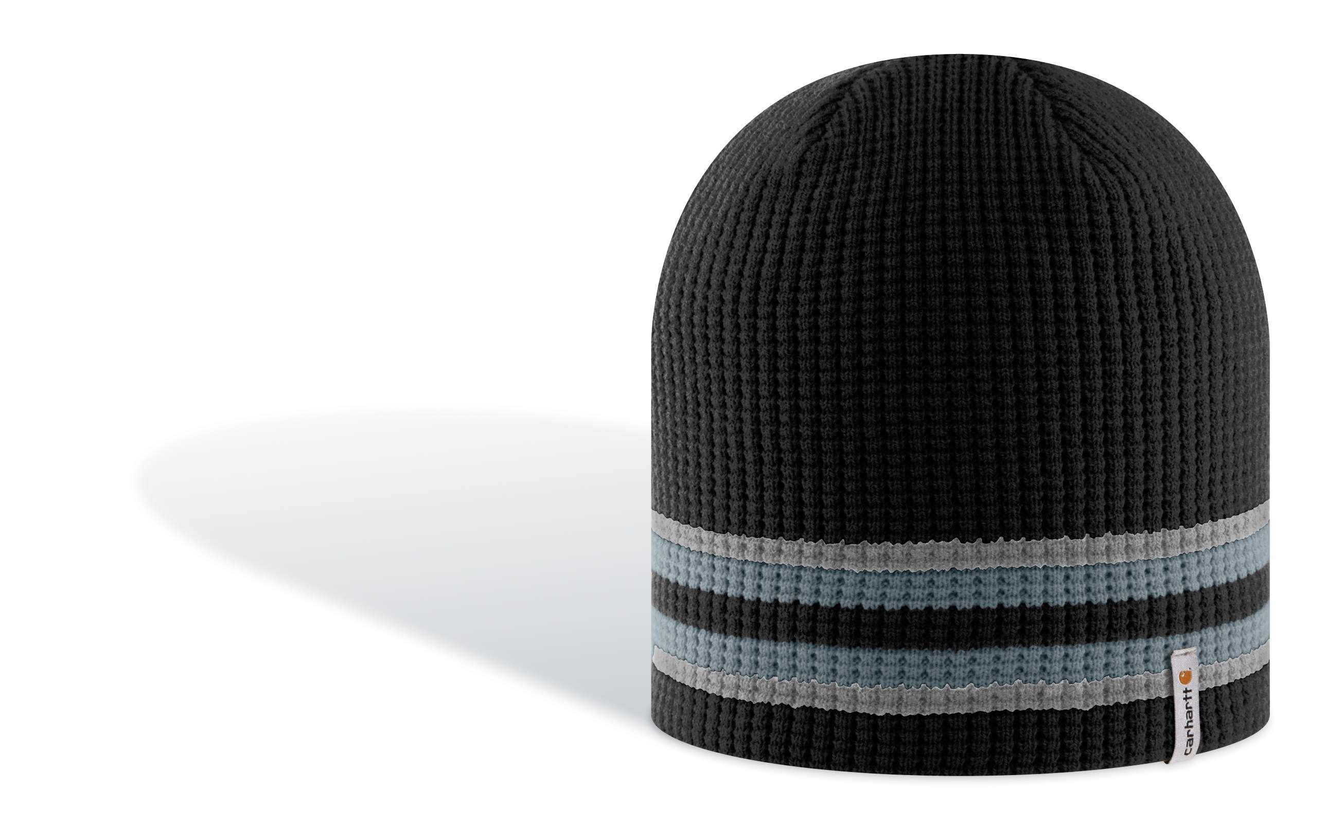 photo: Carhartt Textured Waffle-Stripe Hat winter hat