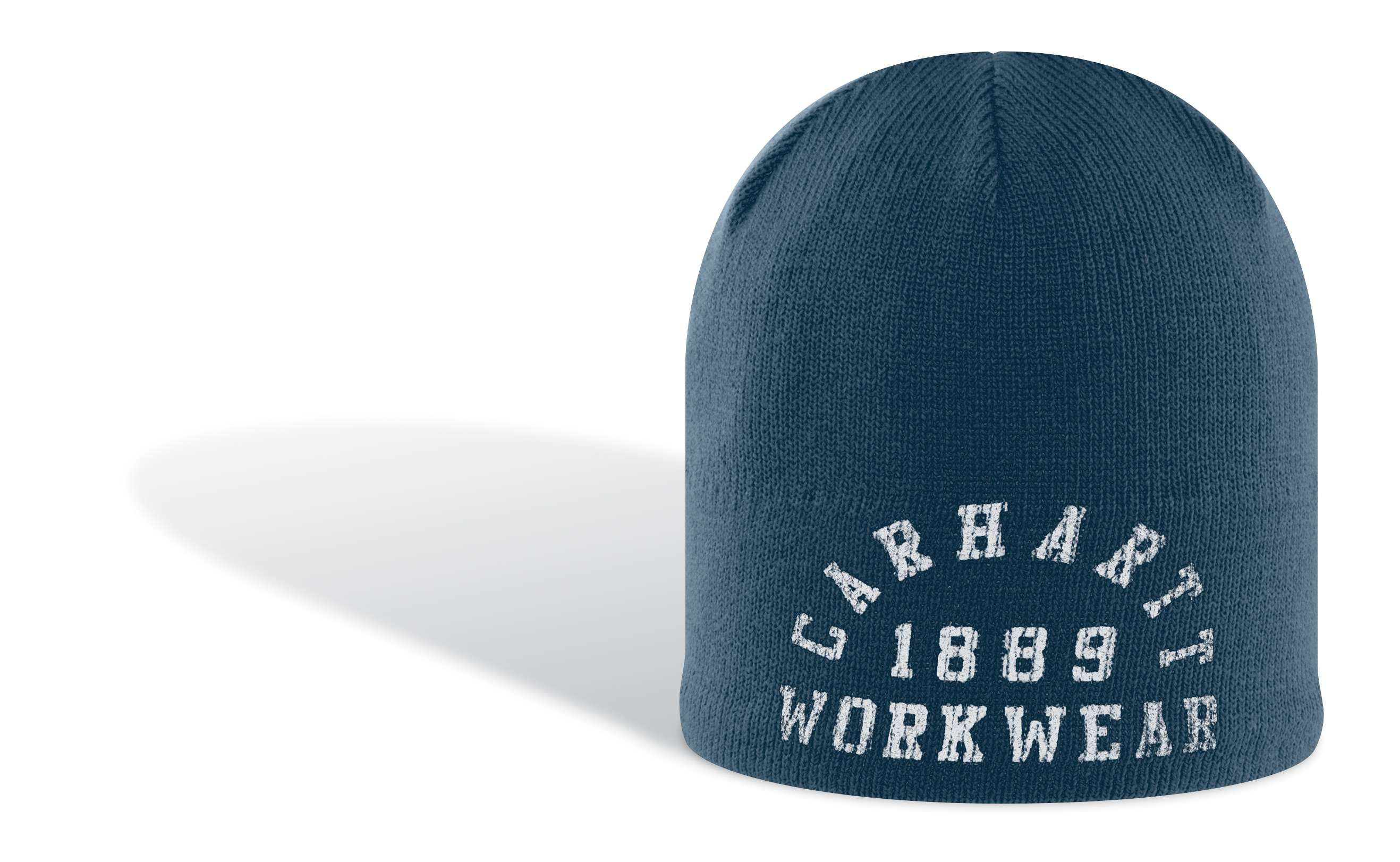 photo: Carhartt Collegiate Logo Knit Hat