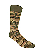 Mens Camo Boot Sock
