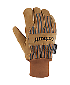 Men's Insulated Suede Work Glove (Knit Cuff)