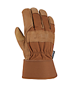 Men's Insulated Grain Leather Work Glove (Safety Cuff)