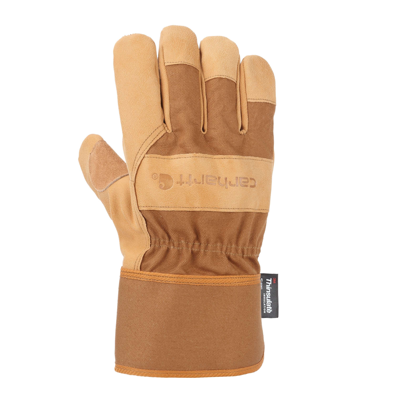 Carhartt Insulated Grain Leather Safety Cuff Work Glove