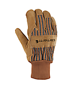Men's Suede Work Glove (Knit Cuff)