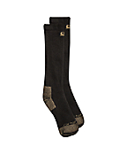 Men's Full Cushion Steel-Toe Cotton Work Boot Sock