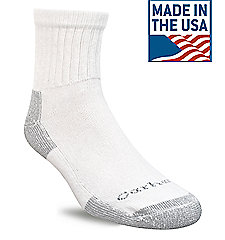 Men's 3 Pack Cotton Quarter Work Sock