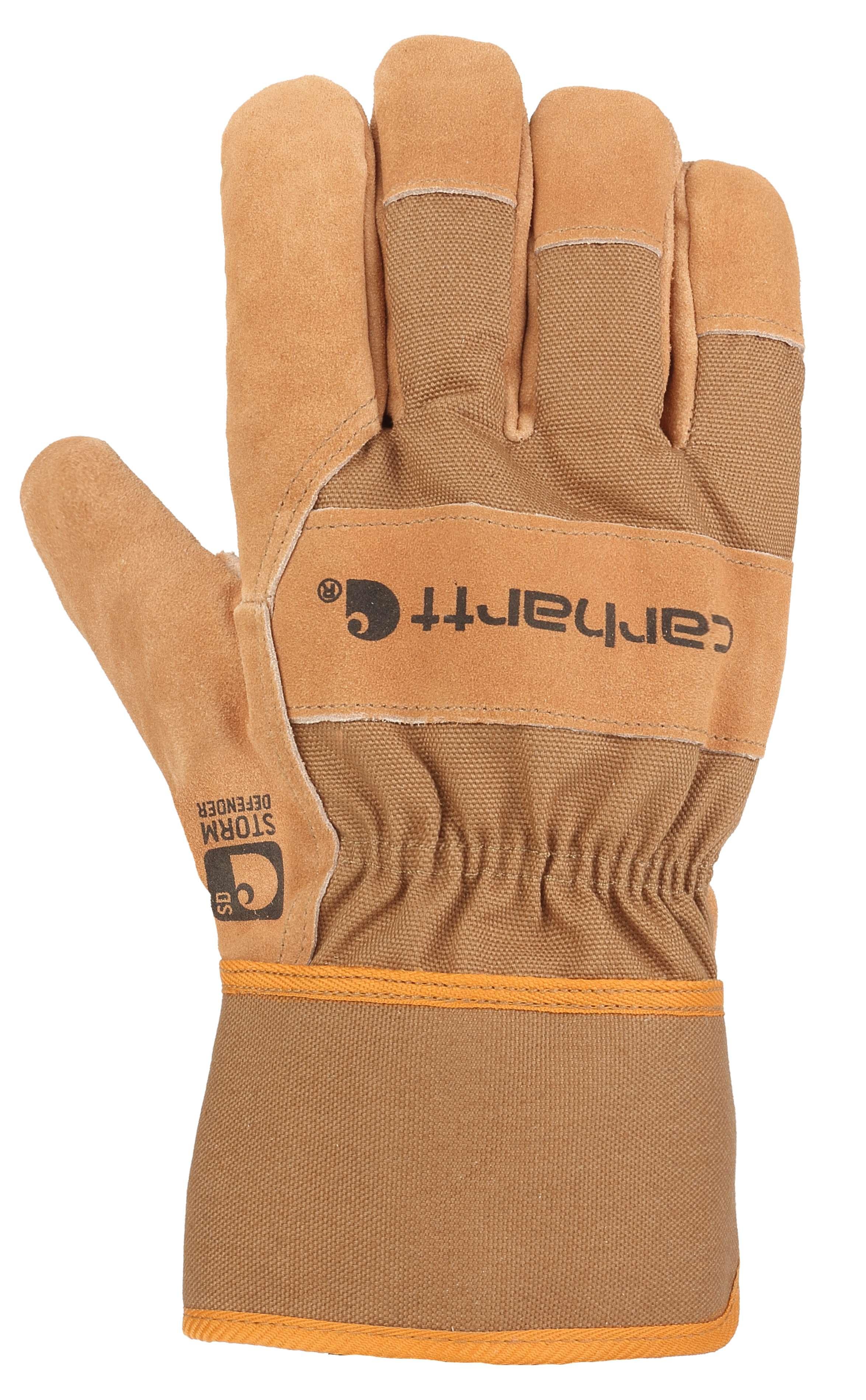 Carhartt Waterproof Breathable Suede Safety Cuff Work Glove