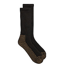 Men's Full Cushion Steel-Toe Synthetic Work Boot Sock