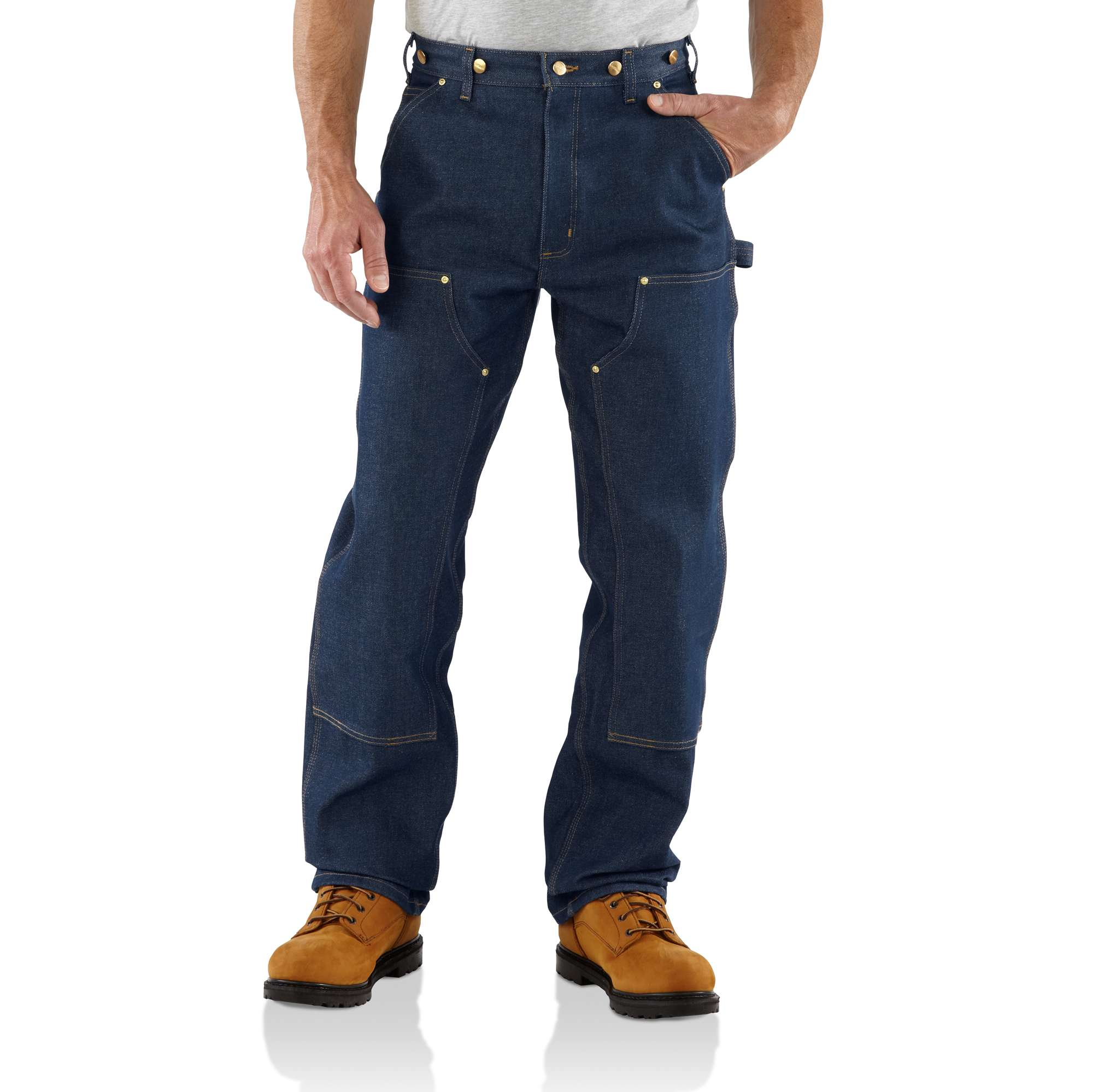 Carhartt Loose/original-fit Double-front Logger Dungaree Jean