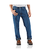 Men's Relaxed Fit Jean - Straight Leg/Flannel