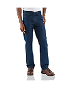 Men's Traditional-Fit Prewash Jean- Straight Leg