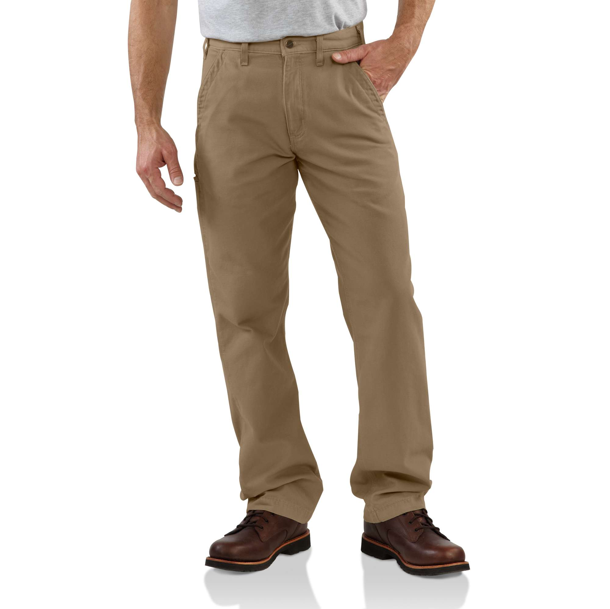 Carhartt Canvas Khaki Relaxed Fit Pant