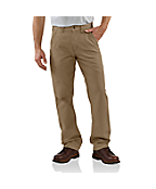 Men's Canvas Khaki Relaxed Fit Pant