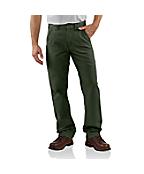Men's Canvas Khaki Relaxed Fit Pant