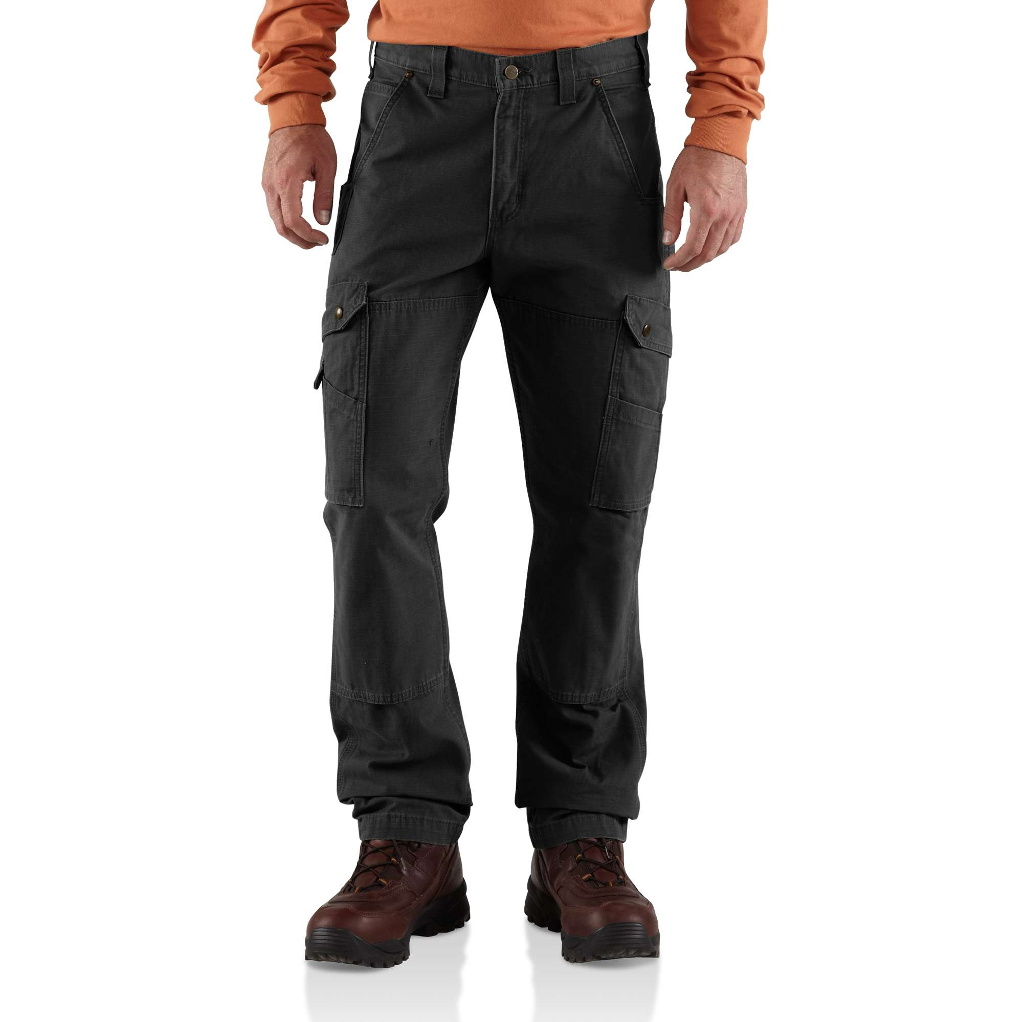 Men Cotton Ripstop Relaxed Fit Double-front Cargo Work Pant | Carhartt