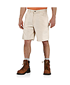 Men's Washed Drill Work Short