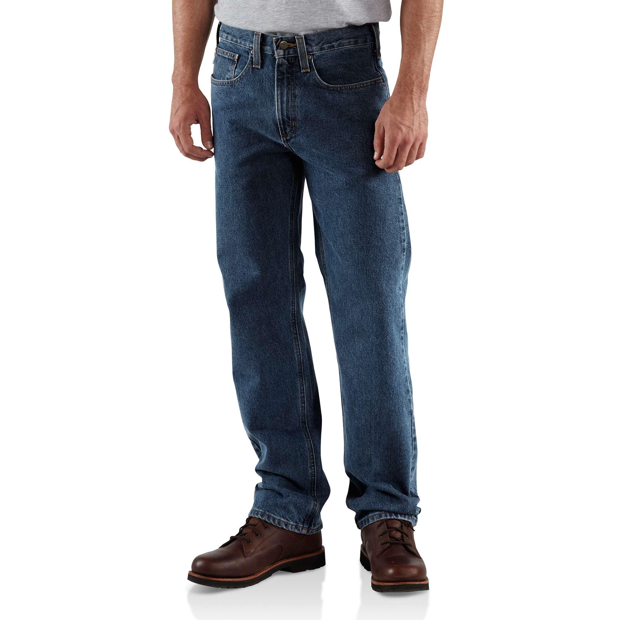 Carhartt Straight/Traditional-Fit Straight-Leg Jean