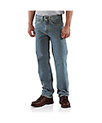 Men's Traditional-Fit Straight-Leg Jean