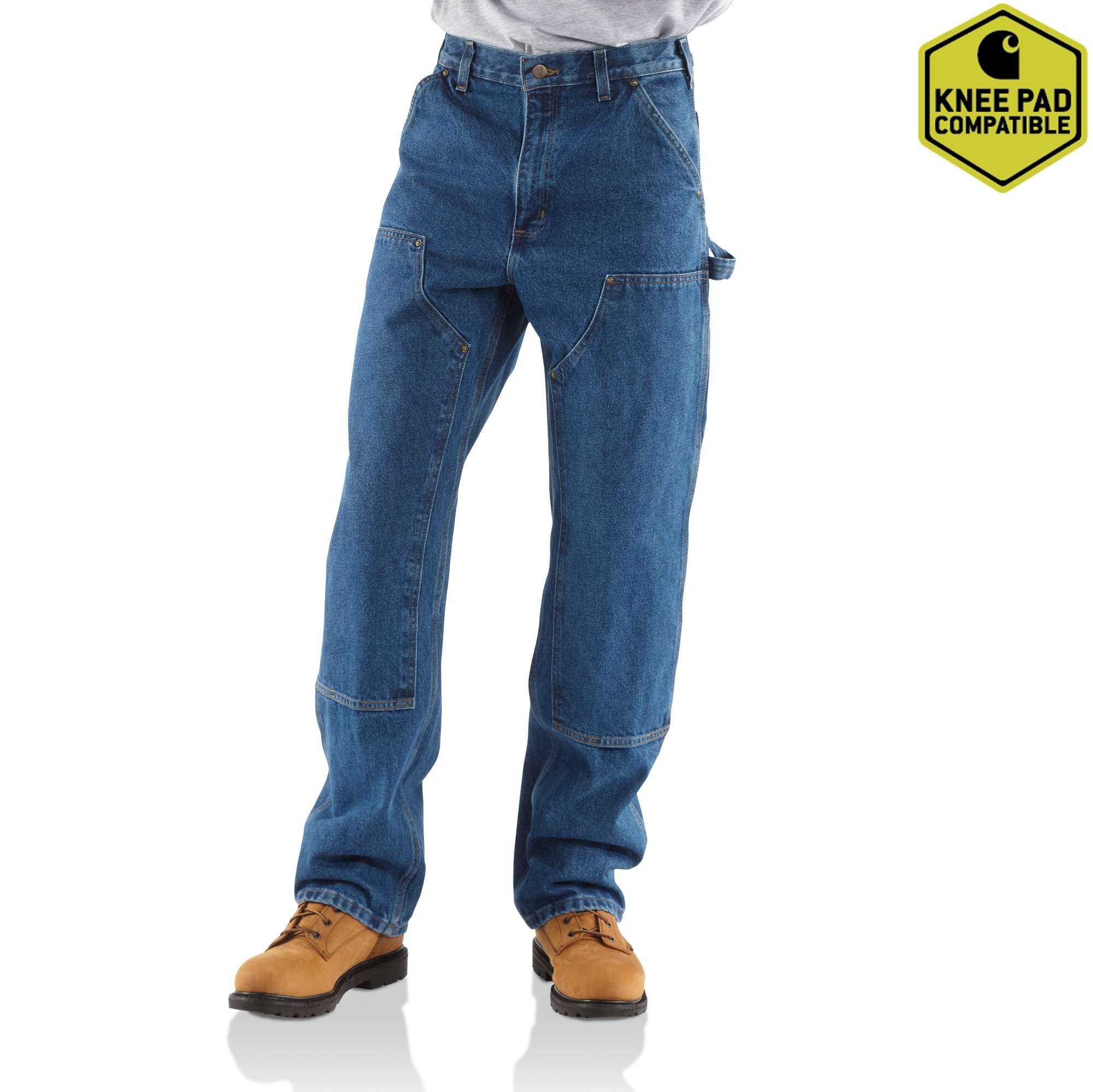 Carhartt Loose / Original-fit Washed Logger Double-front Work Jean