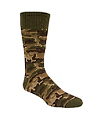 Boys Camo Boot Sock