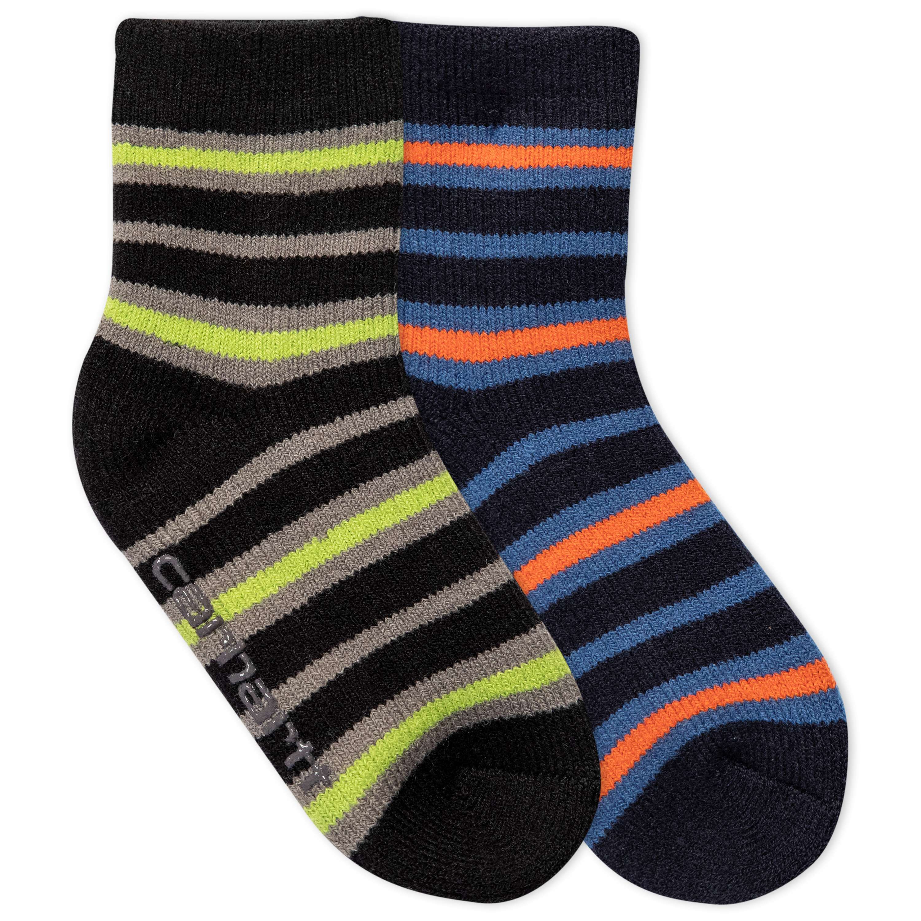 Carhartt Gripper Cozy Thermal Crew Socks 2 Pack