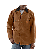 Men's Sandstone Chore Coat/Blanket-Lined
