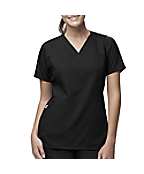 Women's 3-Pocket V-Neck Scrub Top