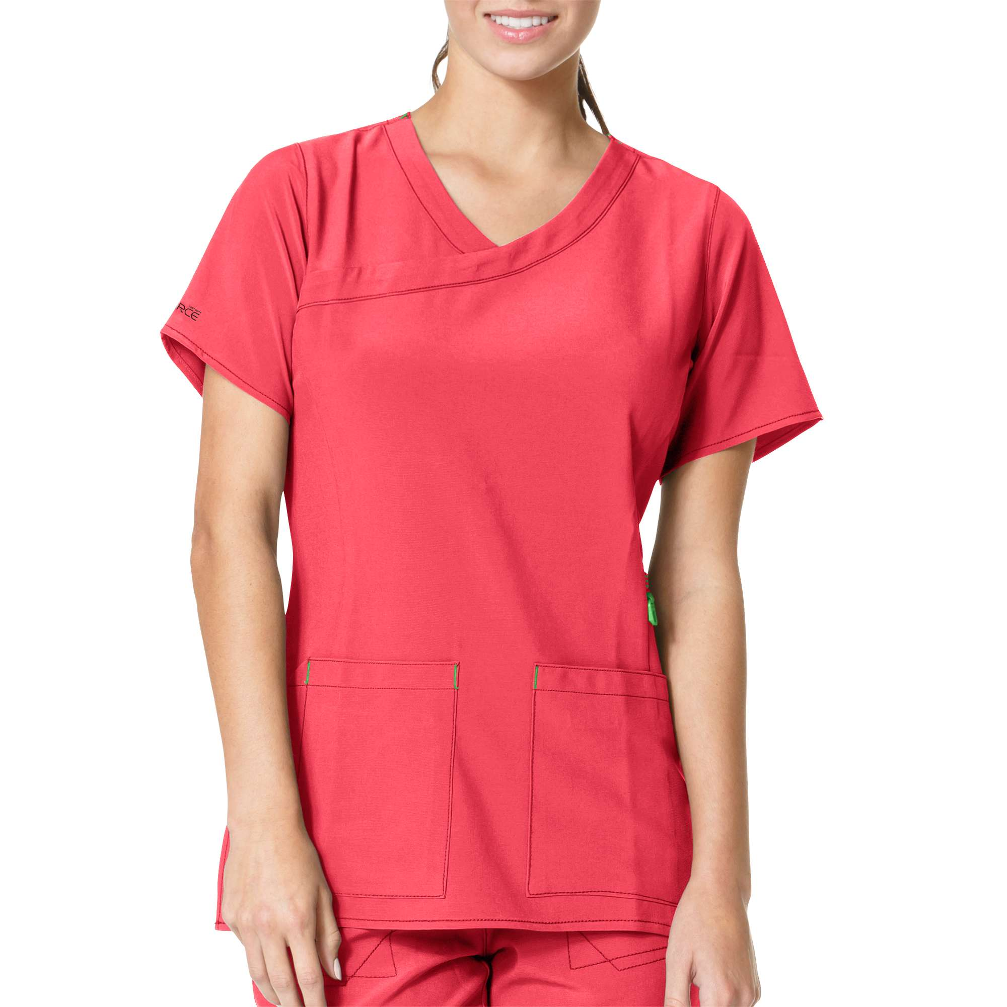 Carhartt Cross Flex Y-Neck Media Scrub Top