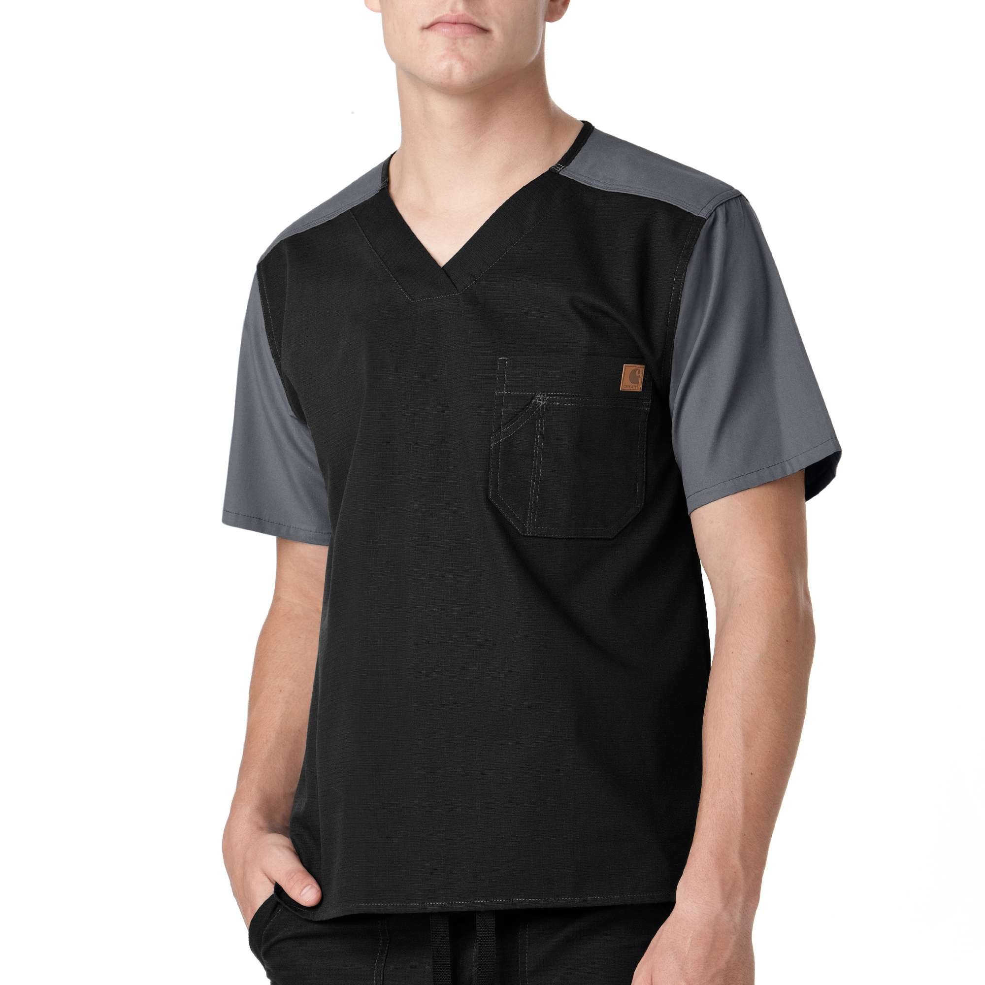 Carhartt Colorblock Scrub Utility Top