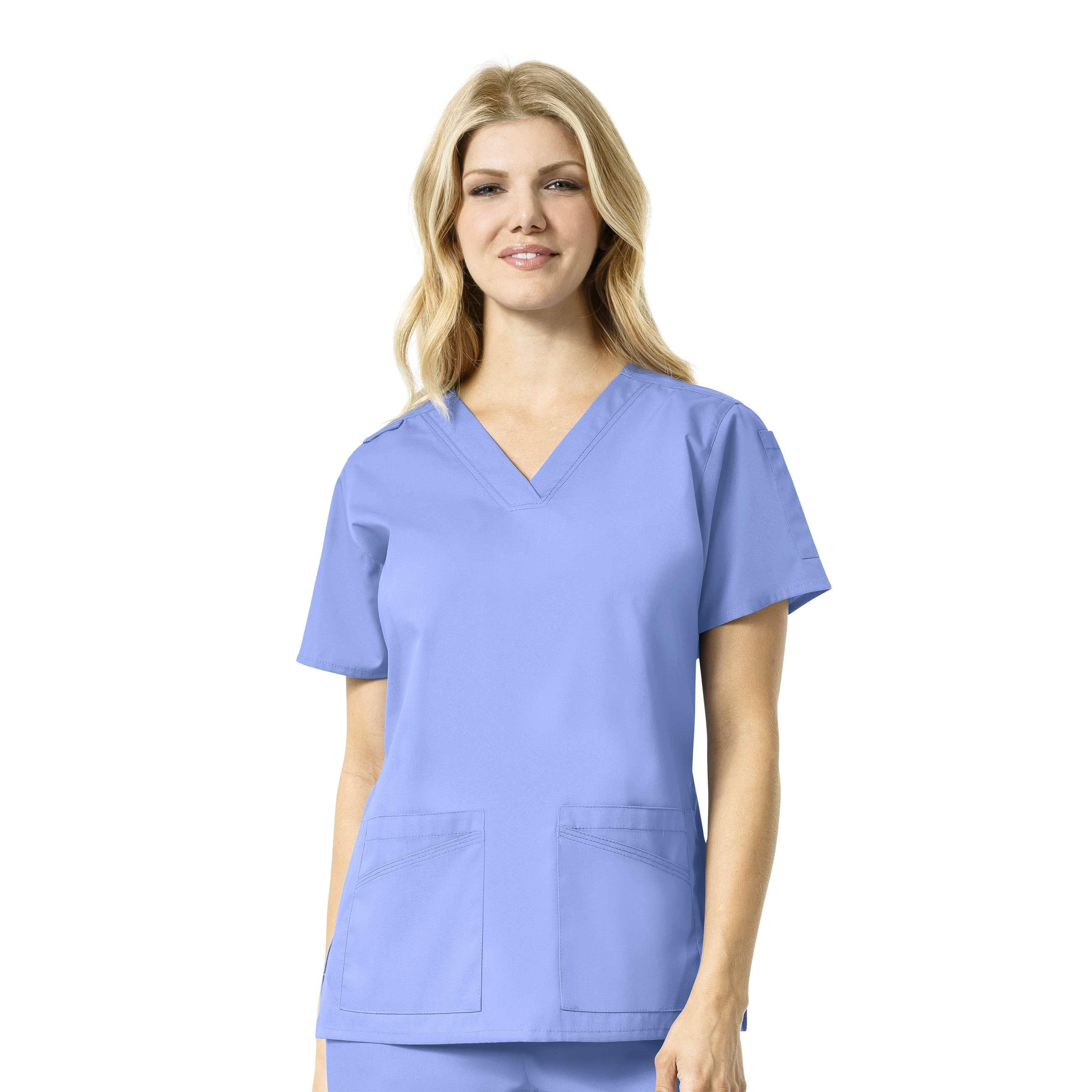 Carhartt Women's V-neck Multi Pocket Top