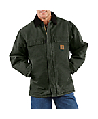 Men's Sandstone Traditional Coat/Arctic Quilt-Lined