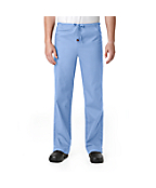 Unisex Full Drawstring Pull-On Scrub Pant