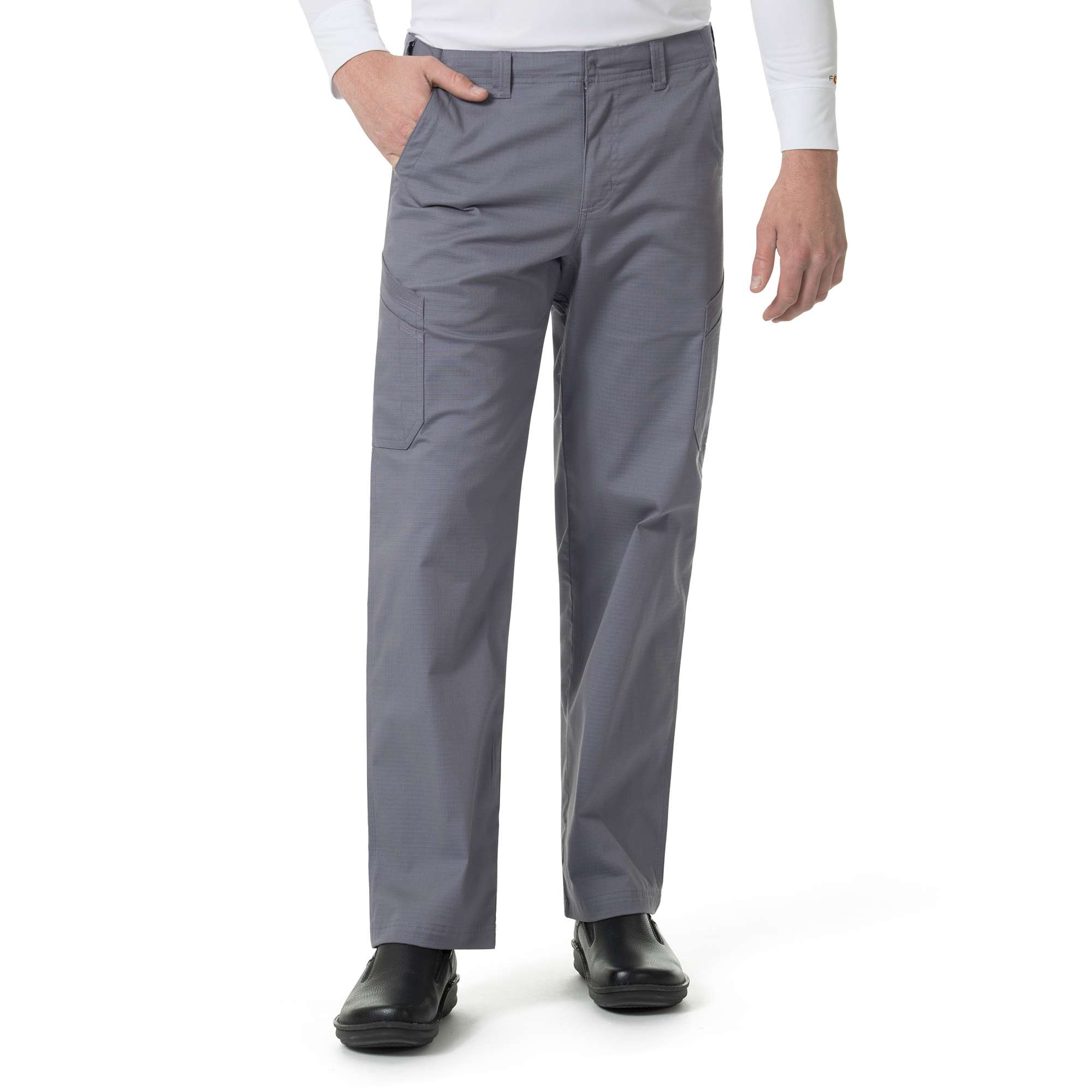 STRAIGHT FIT MULTI-CARGO SCRUB PANT