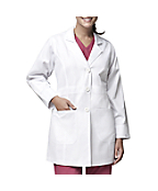 Women's Long Fashion Lab Coat